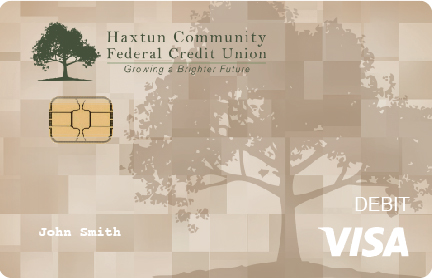 beige debit card